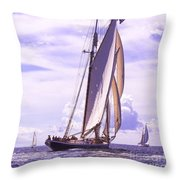 Chasing Columbia Throw Pillow