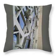 Chasing Lines Throw Pillow