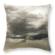 Chasing Nebraska Stormscapes 044 Throw Pillow