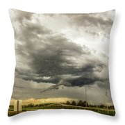 Chasing Nebraska Stormscapes 045 Throw Pillow