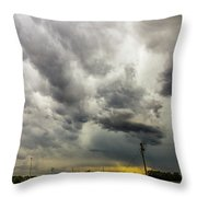 Chasing Nebraska Stormscapes 046 Throw Pillow