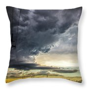 Chasing Nebraska Stormscapes 047 Throw Pillow