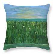 Chasing Shadows Throw Pillow