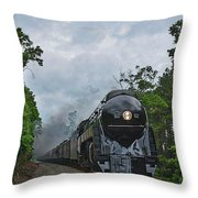 Chasing The 611 Throw Pillow