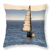 Chasing The Mist Throw Pillow
