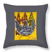 Chasing The Zanga Throw Pillow