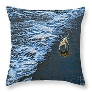 Chasing Waves Throw Pillow