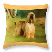 Chatai Throw Pillow