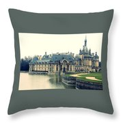 Chateau Chantilly Throw Pillow