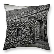 Chateau D'if Throw Pillow
