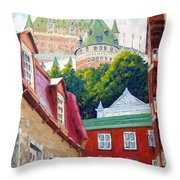 Chateau Frontenac 02 Throw Pillow
