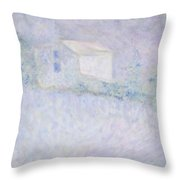 Chateau - House In France Throw Pillow