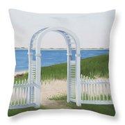 Chatham Harbor Throw Pillow