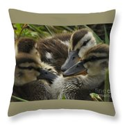 Chatter Throw Pillow