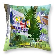 Chautauqua House Throw Pillow