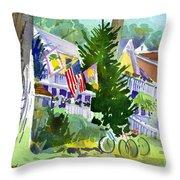 Chautauqua House Throw Pillow