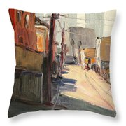 Chavez Alley Throw Pillow