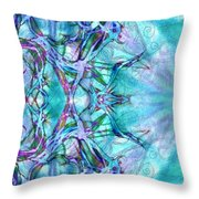 Chay Is Alive-triptych Part 3 Throw Pillow