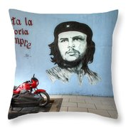 Che Bike  Throw Pillow
