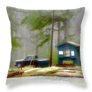 Cheaha Lake Throw Pillow