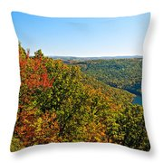 Cheat River Throw Pillow