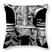 Check Day Throw Pillow
