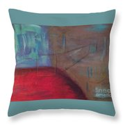Checking All The Angles Throw Pillow