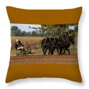 Checking The Row Full Color 5421 H_2 Throw Pillow