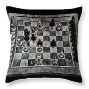 Checkmate In One Move Throw Pillow