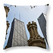 Checkmate Throw Pillow