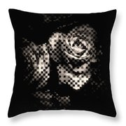 Checkmated Throw Pillow