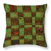 Checkoff Abstract Pattern Throw Pillow