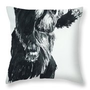 Cheela Captive Wild Woman Throw Pillow