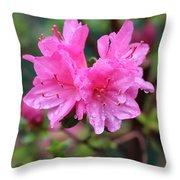 Cheerful Rain Throw Pillow