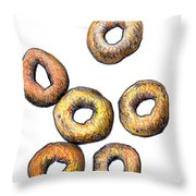 Cheerios 2 Throw Pillow