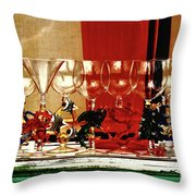 Cheers To All Throw Pillow