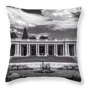 Cheesman Park Denver Throw Pillow