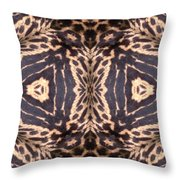 Cheetah Print Throw Pillow