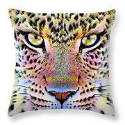 Cheetah Vi Throw Pillow