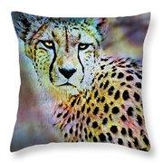 Cheetah Viii Throw Pillow