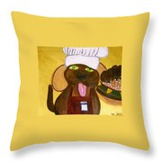 Chef Bow Wow Throw Pillow