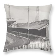 Chelsea - Stamford Bridge - East Stand 2 - August 1969 Throw Pillow