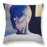 Chemo Therapy Throw Pillow
