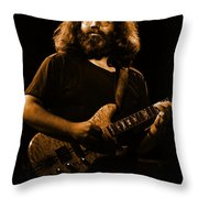Cheney Art #4 In Amber Throw Pillow