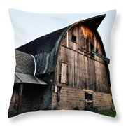 Chequamegon National Forest Barn Throw Pillow