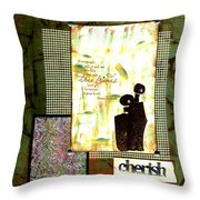 Cherished Friends Throw Pillow