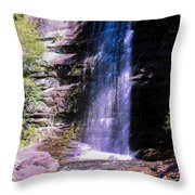 Cherokee Falls Throw Pillow