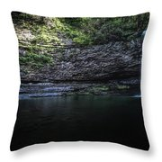 Cherokee In Hdr Throw Pillow