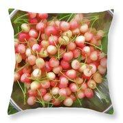 Cherries 8 Throw Pillow