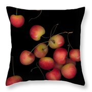 Cherries Multiplied Throw Pillow